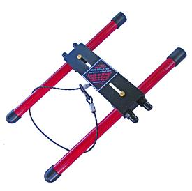Lock N Haul Outboard Motor Support For Trailering And
